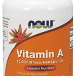 NOW Vitamin A (Fish Liver Oil),250 Softgels