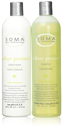 Soma Hair Technology Colour Protect Shampoo & Conditioner 16oz