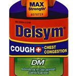 Delsym Adult DM Cough + Chest Congestion Relief Liquid, Cherry, 6oz