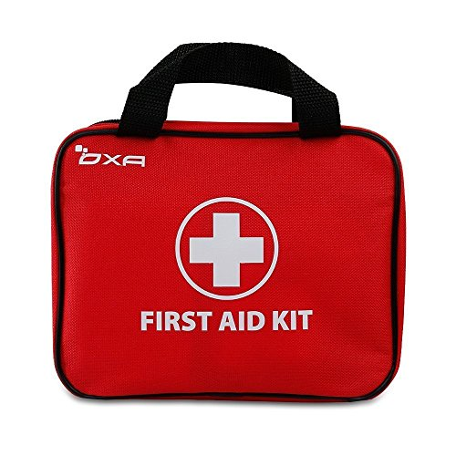OXA 100 Pieces First Aid Kit, FDA Certified Emergency Kit for Home, Office, Car, Caravan, Workplace, Travel, Camping, Sports