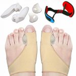 ProTocol Bunion Corrector&Bunion Splint&Bunion Pads for Bunion Relief-Treat Pain in Hallux Valgus Big Toe Joint Hammer Toe&Toe Separators Spacers Straighteners Splint Aid Surgery Treatment