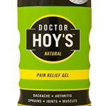 DOCTOR HOY'S Natural Pain Relief Gel – Water based timed Released Menthol for Long Lasting Pain and Inflammation Relief – 8oz