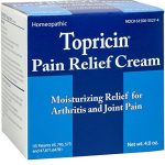 Topricin Pain Relief Cream (4 oz) Fast Acting Pain Relieving Rub for Arthritis, Back & Neck Aches, Fibromyalgia, Sciatica, Plantar Fasciitis, Sore Muscles & Joints, Carpal Tunnel, Chronic Pain