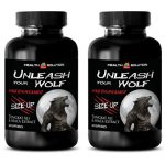 Male enhancing pills erection best seller – UNLEASH YOUR WOLF – MALE ENHANCEMENT – SIZE UP – Maca tongkat ali – 2 Bottles 120 Capsules
