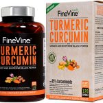 Turmeric Curcumin with BioPerine Black Pepper and Ginger – Made in USA – 120 Vegetarian Capsules for Advanced Absorption, Cardiovascular Health, Joints Support and Anti Aging Supplement.