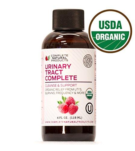 Urinary Tract Complete 4oz - Organic Liquid Bladder, UTI, UTI Prevention & Yeast Infection Treatment