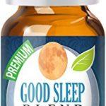 Good Sleep Essential Oil – 100% Pure, Best Therapeutic Grade – 10ml – Includes Chamomile, Copaiba, Lavender, Sandalwood & More