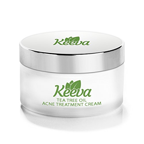 7X FASTER Acne Treatment for Scars, Cystic Spots & Blackheads Secret TEA TREE OIL + Salicylic Acid Dermatologist Recommended for Fast Scar Removal - Get Rid of Bacne in Days (1 oz)