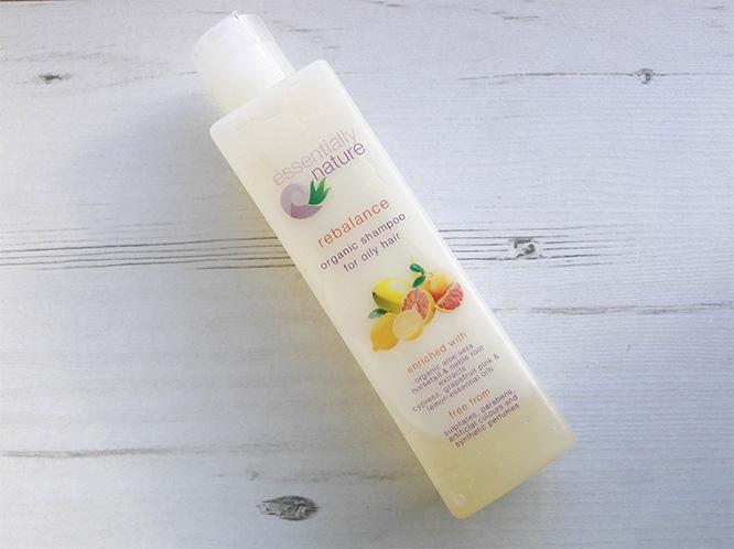 Essentially Nature Rebalance shampoo
