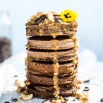 This Chocolate Peanut Butter Pancake Recipe Is Healthy *And* Indulgent