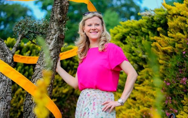 Nuala Carey at Bloom