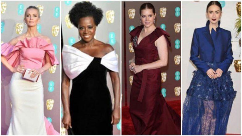 BAFTA Awards 2019: Viola Davis, Amy Adams and Tatiana Korsakova Dazzle on the Red Carpet - View Pics