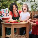 'Don't stress about the mess: let kids help in the kitchen'