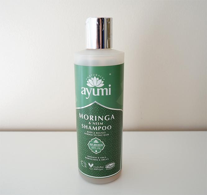 Ayumi Moringa & Neem shampoo
