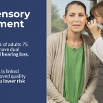 What is dual sensory impairment?
