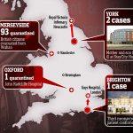 Britons on Sunday evacuation flight from coronavirus-hit Wuhan will be held in Milton Keynes