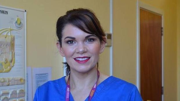 Dermatology nurse specialist Selene Daly